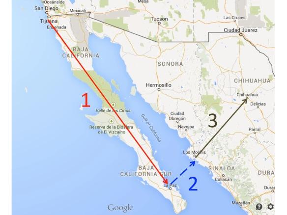 L'itinerario del mio viaggio post-convegno